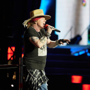 Axel Rose – Guns´n Roses 2017 Not in This Lifetime
